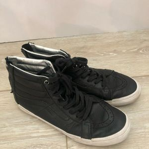 Vans Skate Shoes Leather size 5.5 m /7 w